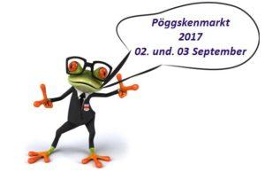 Ankündigung Pöggskenmarkt