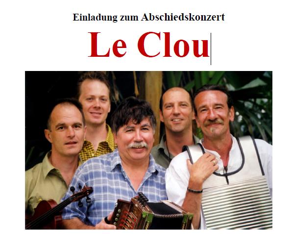 Abschiedskonzert Le Clou