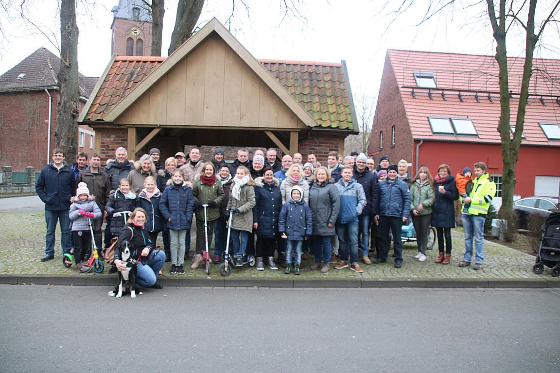 Winterwanderung des Allgemeinen Schützenvereins führte nach Tönnishäuschen / Stopp im Landgasthof