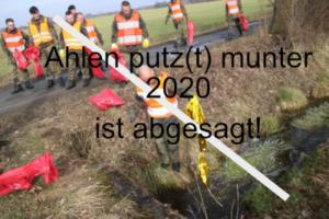 """""""Ahlen putz(t)munter"""" wird ersatzlos abgesagt"""