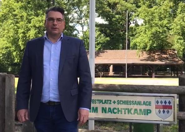 Videobotschaft von unserem Bürgermeister Dr. Alexander Berger / Absage Schützenfest 2020