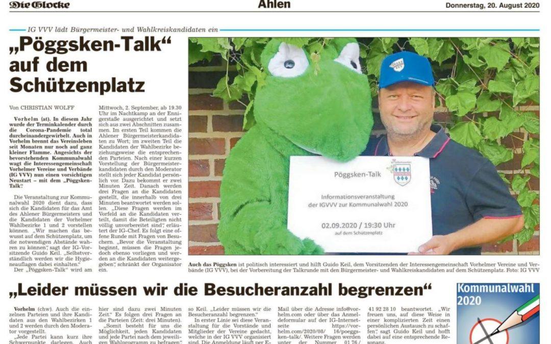 Einladung zum Pöggsken-Talk